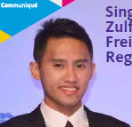 Saiful Ridhwan featured in SLA's Monthly Newsletter, The Communique